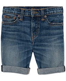 Polo Ralph Lauren Lightweight Cutoff Shorts, Little Boys