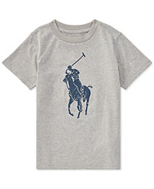 Polo Ralph Lauren Moisture-Wicking Jersey T-Shirt, Little Boys
