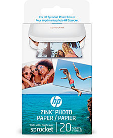 HP ZINK™ 20-Pk. Photo Paper