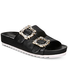I.N.C. Women's Alani Footbed Flat Sandals, Created for Macy's