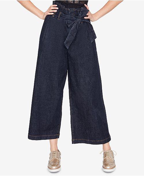 8f3aae0fd425 ... RACHEL Rachel Roy Wide-Leg Paperbag Jeans