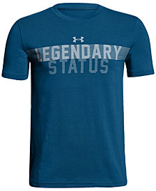 Under Armour Charged Cotton® Graphic-Print T-Shirt, Big Boys