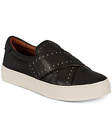 Frye Women's Nina Stud Slip-On Sneakers, Created For Macy's