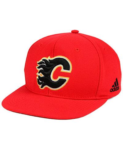 adidas Calgary Flames Core Snapback Cap