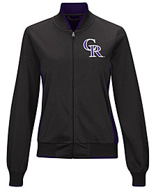G-III Sports Women's Colorado Rockies Triple Track Jacket