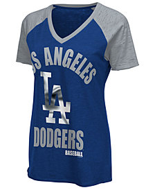 G-III Sports Women's Los Angeles Dodgers Game On T-Shirt