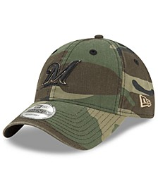 Milwaukee Brewers Camo Core Classic 9TWENTY Cap