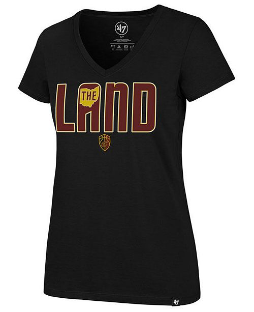 '47 Brand Women's Cleveland Cavaliers Local Graphic T-Shirt