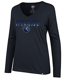 Women's Minnesota Timberwolves Local Graphic Long Sleeve T-Shirt