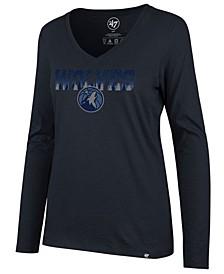 Women's Minnesota Timberwolves Local Graphic Long Sleeve T-Shirt