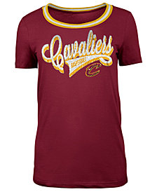 5th & Ocean Women's Cleveland Cavaliers Crew Trim T-Shirt