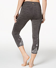 Gaiam Om Renew Cropped Leggings