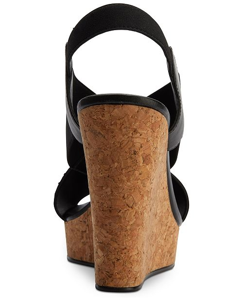 fc319c86d72 ... DKNY Jamara Wedge Sandals