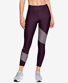 Under Armour HeatGear® Compression Ankle Workout Leggings