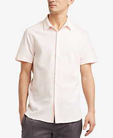 Kenneth Cole New York Men's Seersucker Shirt