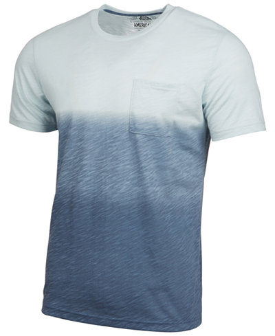 American Rag Men's Dip Dyed T-Shirt, Created for Macy's