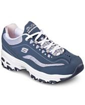 48fa868861b Skechers Women s D-Lites - Life Saver Wide Walking Sneakers from Finish Line