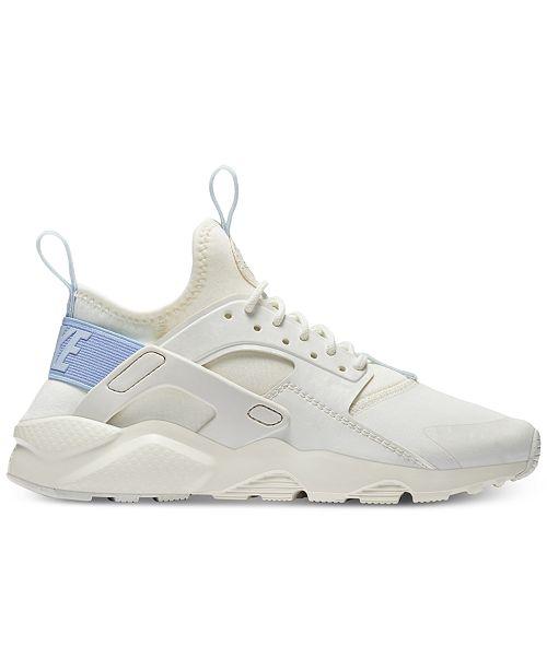 7f9927bbacfd ... Nike Big Girls  Air Huarache Run Ultra Running Sneakers from Finish ...