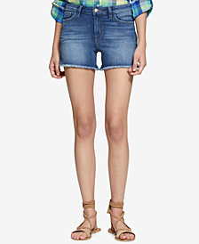 Sanctuary Frayed Denim Shorts