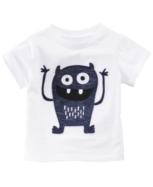 First Impressions MonsterPrint Cotton TShirt Baby Boys Created for Macys