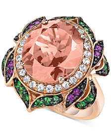 Crazy Collection® Multi-Gemstone Statement Ring (6-1/4 ct. t.w.) in 14k Rose Gold
