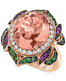 Le Vian Crazy Collection® Multi-Gemstone Statement Ring (6-1/4 ct. t.w.) in 14k Rose Gold
