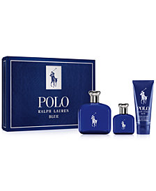 Ralph Lauren Men's 3-Pc. Polo Blue Eau de Toilette Gift Set
