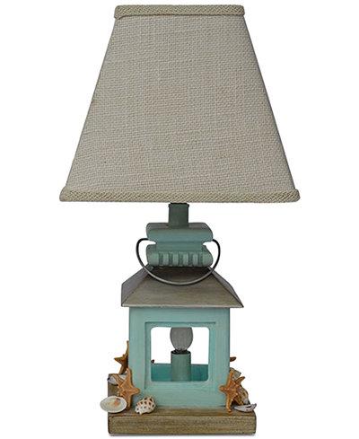 AHS Lighting Coastal Lantern With Night Light