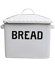 Enameled Metal ''Bread'' Box