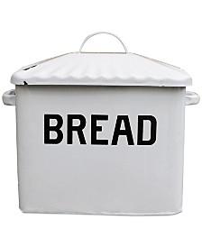 Enameled Metal ''Bread'' Box
