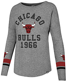 '47 Brand Women's Chicago Bulls Encore Long Sleeve T-Shirt