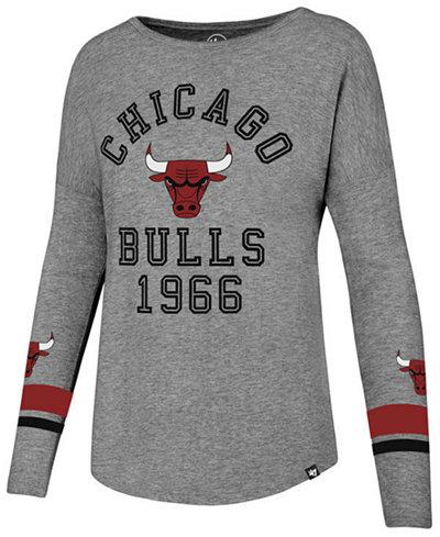 '47 Brand Women's Chicago Bulls Encore Long Sleeve T-Shirt