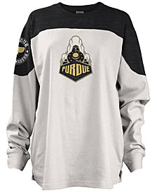 Royce Apparel Inc Women's Purdue Boilermakers Cannondale Oversized Shirt