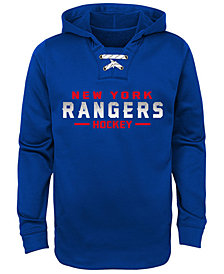Outerstuff New York Rangers Hockey Hoodie, Big Boys (8-20)