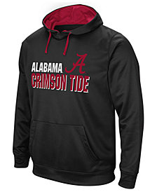 Colosseum Men's Alabama Crimson Tide Stack Performance Hoodie