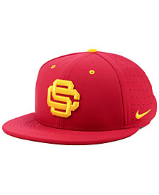 Nike USC Trojans Aerobill True Fitted Baseball Cap