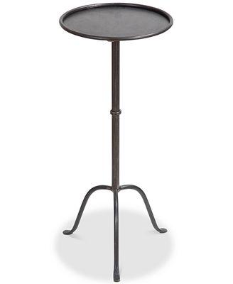 Round Metal Martini Table