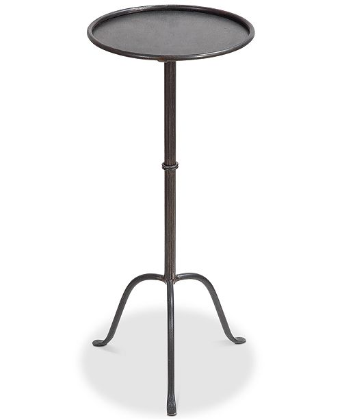 3R Studio  Round Metal Martini Table