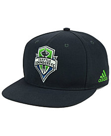 adidas Seattle Sounders FC Poly Snapback Cap
