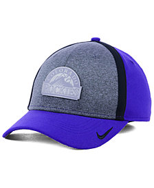 Nike Colorado Rockies Team Color Reflective Swooshflex Cap