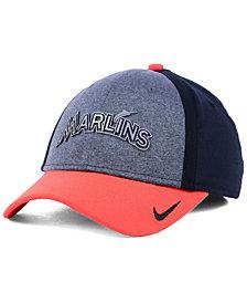 Nike Miami Marlins Team Color Reflective Swooshflex Cap