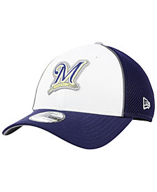 New Era Milwaukee Brewers Pop Reflective 39THIRTY Cap