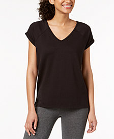 Ideology V-Back T-Shirt, Created for Macy's