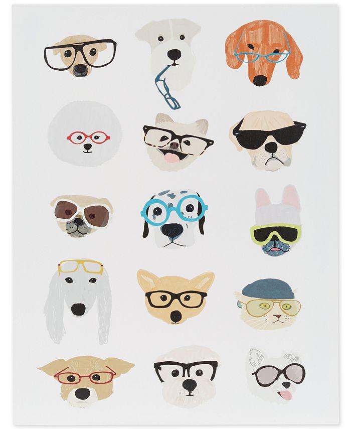 JLA Home - Hip Dog Printed Dimensional Box Wall Art
