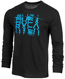 RVCA Men's Big Torn Long-Sleeve T-Shirt