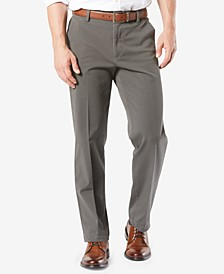Men's Workday Smart 360 Flex Classic Fit Khaki Stretch Pants