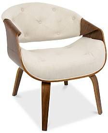 Curvo Accent Chair, Quick Ship