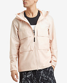 Kenneth Cole Men's Hooded Windbreaker Jacket