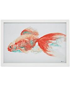 Urban Habitat Gilbert Goldfish Framed Wall Art