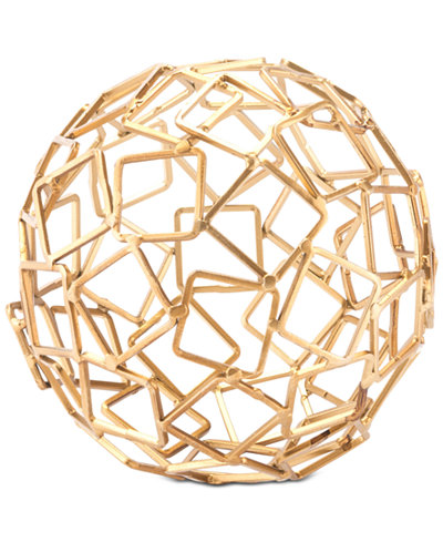 Zuo Squares Gold Orb